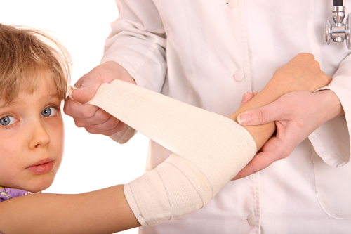 bandage_on_arm